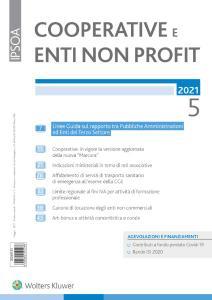 Cooperative e enti non profit - Maggio 2021