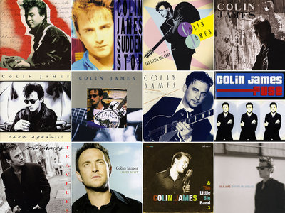 Colin James - Albums Collection 1988-2018 (16CD) [Re-Up + Upgrade]