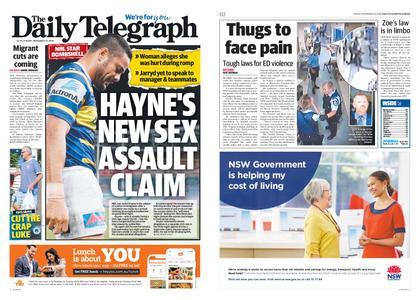 The Daily Telegraph (Sydney) – November 16, 2018