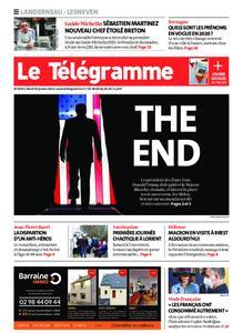 Le Télégramme Landerneau - Lesneven – 19 janvier 2021
