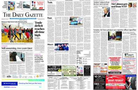 The Daily Gazette – March 07, 2019