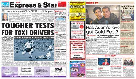 Express and Star City Edition – September 08, 2017
