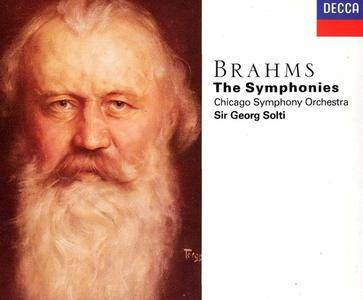 Chicago Symphony Orchestra, Georg Solti - Brahms: The Symphonies (1991)