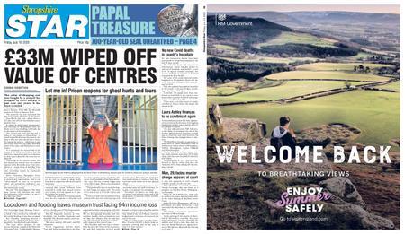 Shropshire Star North County Edition – July 10, 2020