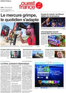 Ouest-France Édition France – 28 juin 2019
