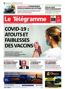 Le Télégramme Ouest Cornouaille – 22 février 2021