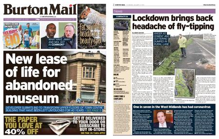 Burton Mail – January 21, 2021