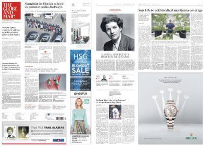 The Globe and Mail – February 15, 2018