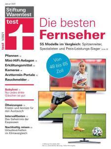 Stiftung Warentest Test Magazin - Januar 2021