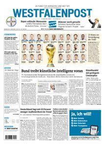 Westfalenpost Wetter - 05. Juni 2018