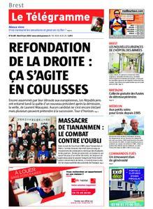 Le Télégramme Brest – 04 juin 2019