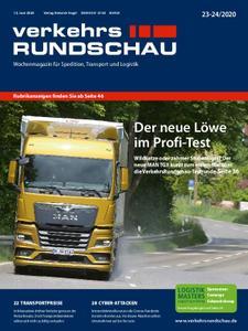 VerkehrsRundschau - 05. Juni 2020
