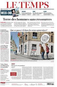 Le Temps - 11 mai 2019
