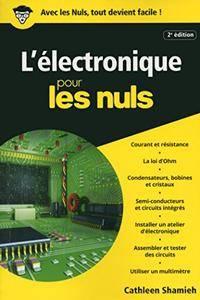 L'Electronique Poche Pour les Nuls [Kindle Edition]