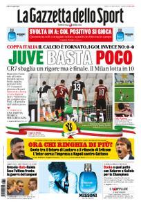La Gazzetta dello Sport Roma – 13 giugno 2020