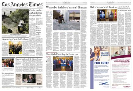 Los Angeles Times – February 24, 2021
