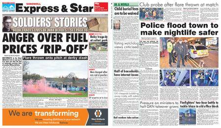 Express and Star Sandwell Edition – April 02, 2018