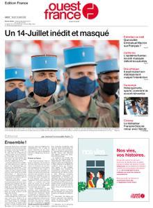 Ouest-France Édition France – 14 juillet 2020