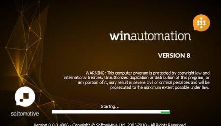 WinAutomation Professional Plus 8.0.4.5343