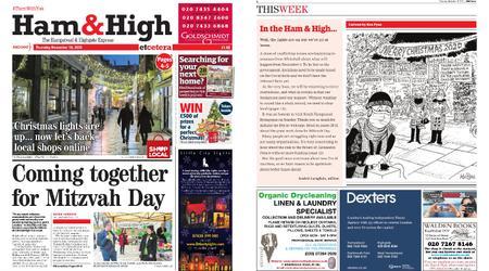Ham & High – November 19, 2020