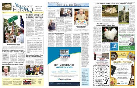 Bucks County Herald – August 21, 2019
