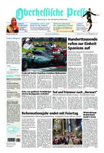Oberhessische Presse Marburg/Ostkreis - 30. Oktober 2017
