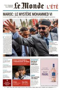 Le Monde du Dimanche 28 et Lundi 29 Juillet 2019