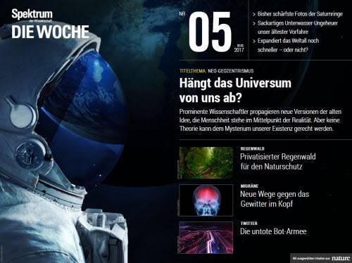 Spektrum Die Woche No 05 - 02. Februar 2017