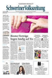 Schweriner Volkszeitung Hagenower Kreisblatt - 04. April 2018