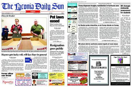 The Laconia Daily Sun – September 15, 2017