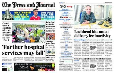 The Press and Journal Moray – August 13, 2018