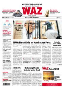 WAZ Westdeutsche Allgemeine Zeitung Oberhausen-Sterkrade - 07. Januar 2019