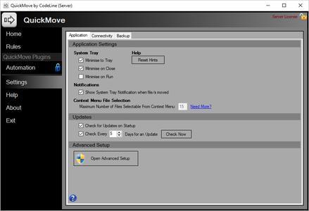 QuickMove Server v3.4.4.0
