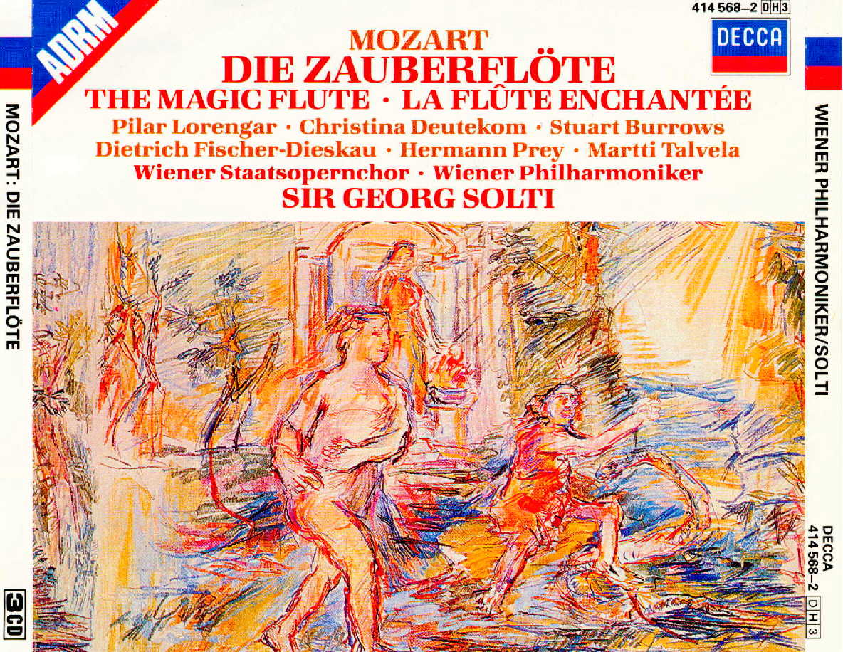 Mozart  - The Magic Flute - Fisher-Dieskau - Sir Georg SOLTI
