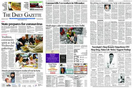 The Daily Gazette – February 27, 2020