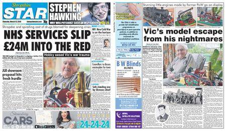 Shropshire Star Shrewsbury Edition – March 15, 2018