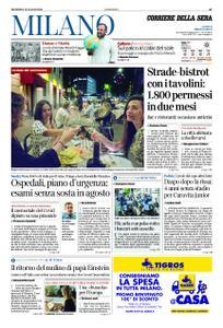 Corriere della Sera Milano – 19 luglio 2020