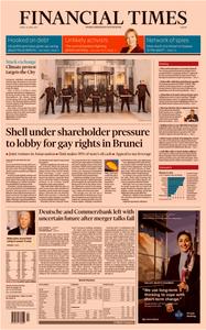 Financial Times Europe – 26 April 2019