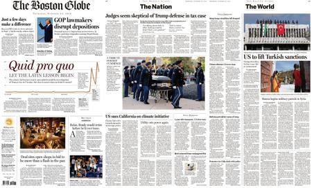 The Boston Globe – October 24, 2019