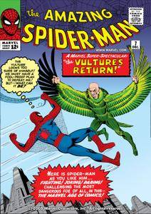 For PostalPops Amazing Spider-Man 007 1963 Digital cbr
