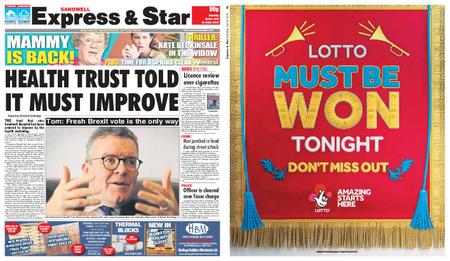 Express and Star Sandwell Edition – April 06, 2019