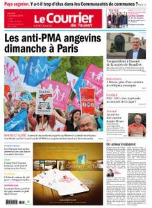 Le Courrier de l'Ouest Nord Anjou – 05 octobre 2019