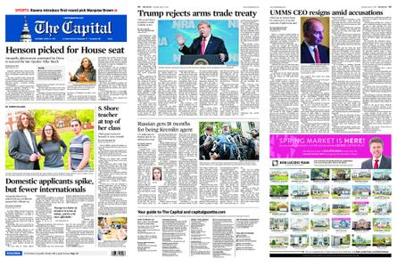 The Capital – April 27, 2019
