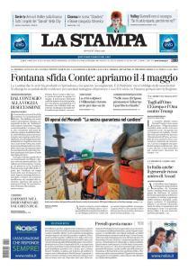 La Stampa Torino Provincia e Canavese - 16 Aprile 2020
