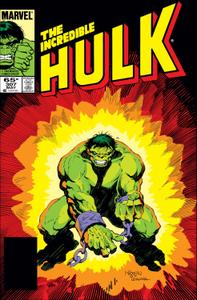 Incredible Hulk 307 1985