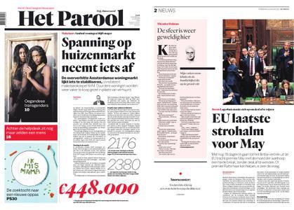 Het Parool – 10 januari 2019