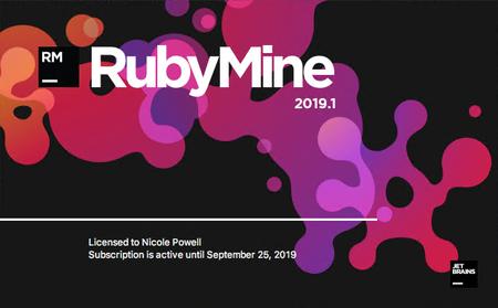 JetBrains RubyMine 2019.1.3