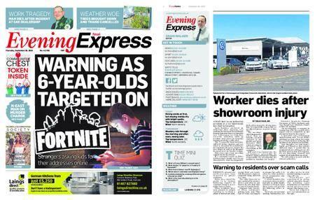 Evening Express – September 20, 2018