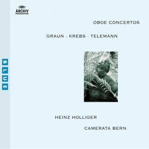 Camerata Bern & Heinz Holliger - Graun / Krebs / Telemann: Oboe Concertos (2004/2012) [Official Digital Download 24/96]