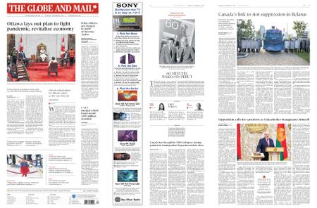 The Globe and Mail – September 24, 2020